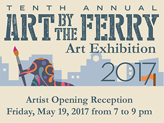 Art by the Ferry  2017 Post card