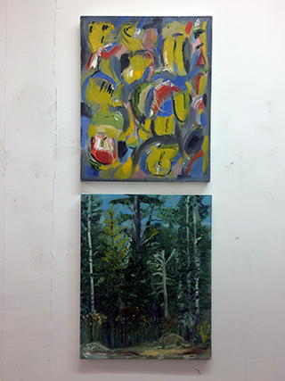 Brigid's paintings